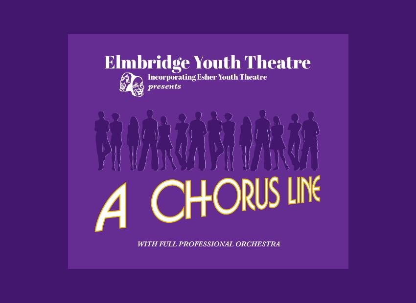 Elmbridge Youth Theatre Show – A Chorus Line – At Cecil Hepworth Playhouse Walton On Thames Surrey