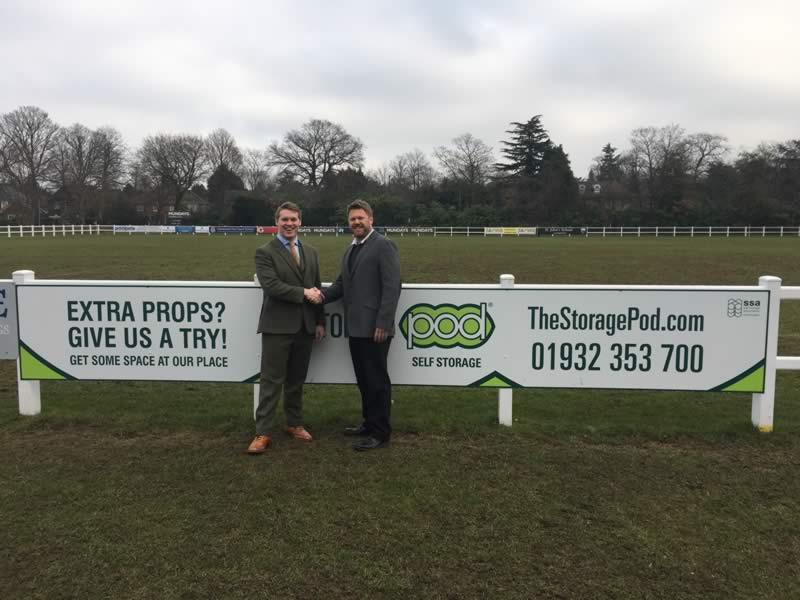 The Storage Pod Secures Community Sponsorship With Cobham Sports Association