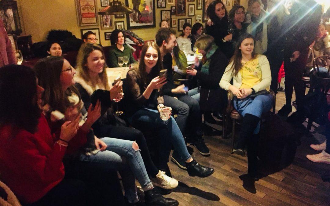 Weybridge International School Of English Social Night At Café Rouge
