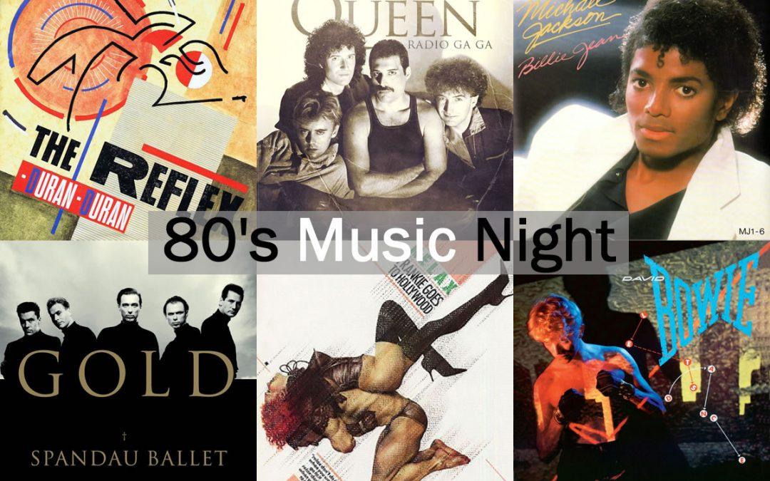 80s Music Night at Red Bar & Restaurant Weybridge Surrey