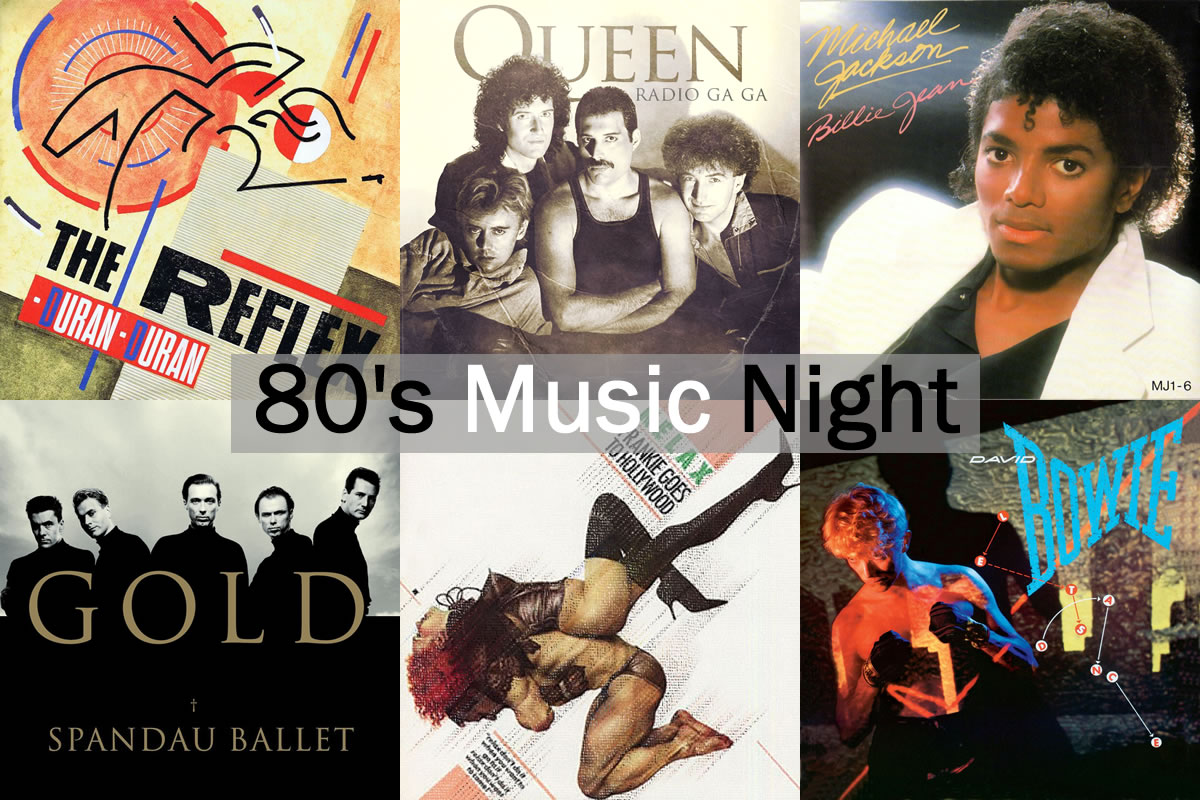 80's Music Night at Red Bar & Restaurant Weybridge Surrey
