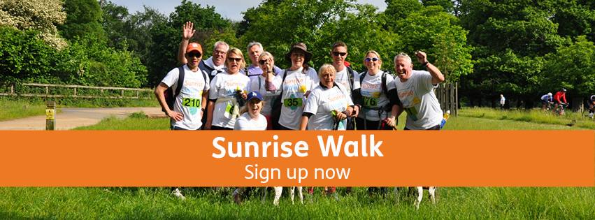 Sunrise Walk In Aid of Shooting Star Chase Children's Hospices – Sign Up Now!