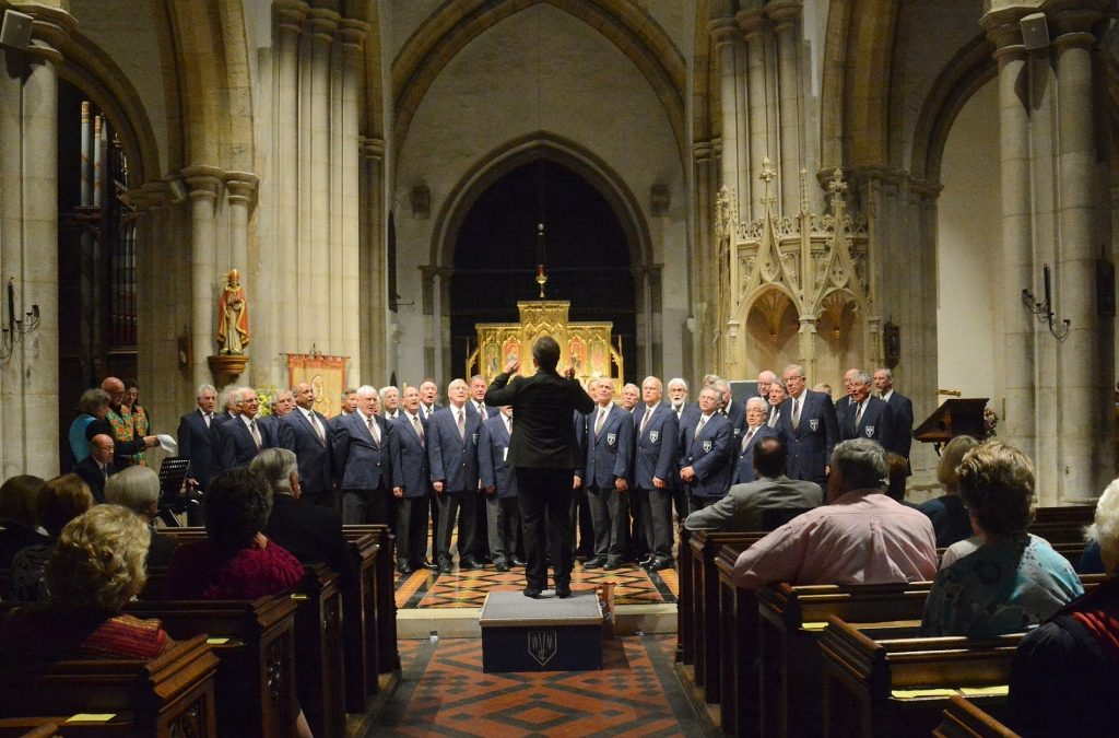 Shooting Star Chase Event – Weybridge Male Voice Choir Concert in Shepperton