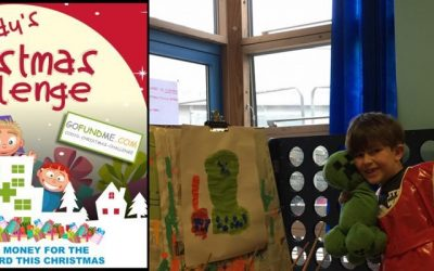 Cody's Christmas Challenge – Raising funds for toys for St.Peters Hospital, Chertsey, Surrey Children's wards playroom