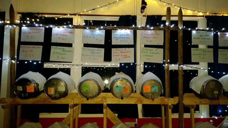 Oatfest Beer Festival with Live Music in Oatlands Weybridge Surrey