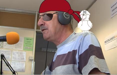 Fun at Brooklands Radio on Talk Like A Pirate Day
