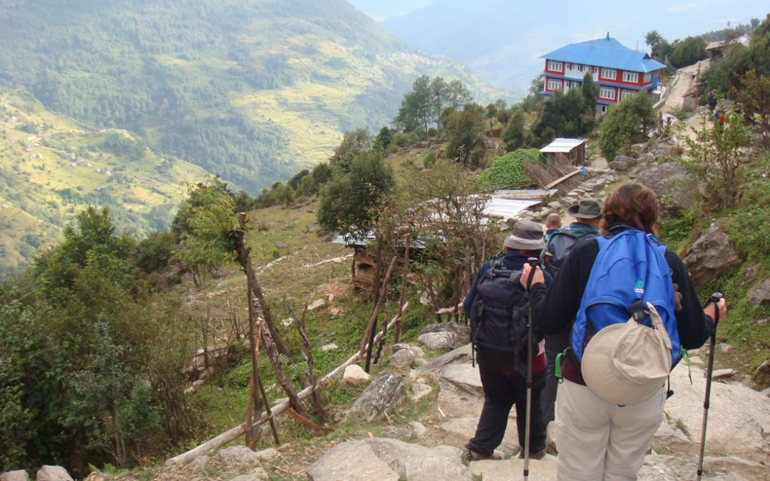 Trek, Fundraise and Volunteer with Woking & Sam Beare Hospices Nepal Trek & Hospice Project