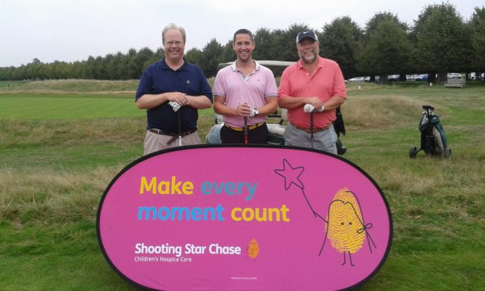 Shooting Star Chase Childrens Hospices Events – Autumn Golf Day