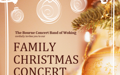 Family Christmas Concert in Chertsey by Bourne Concert Band of Woking