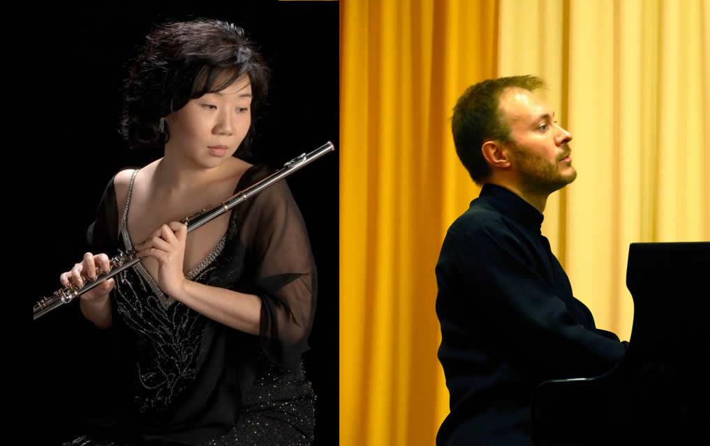 Music on The Green Esher Concert – Mihi Kim Flute & Mikhail Shilyaev Piano