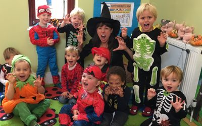 Free Halloween Party for Kids (0-6) in Weybridge!  Drama, Music & Dance Entertainment