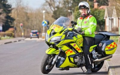 Volunteering Opportunity & Charity to Support – Serv SSL Blood Bikers – The Volunteer Motorcyclists Who Help the NHS