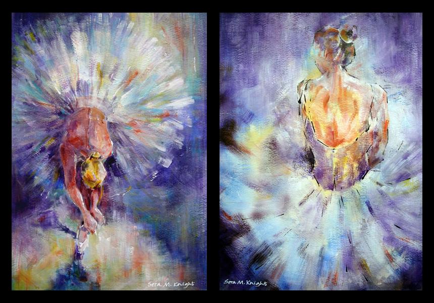 Ballet & Dance Art by Woking Surrey Artist Sera Knight