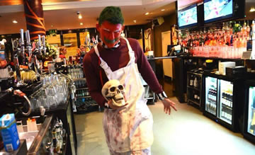 Halloween Fun - is this the Head Barman at Red?