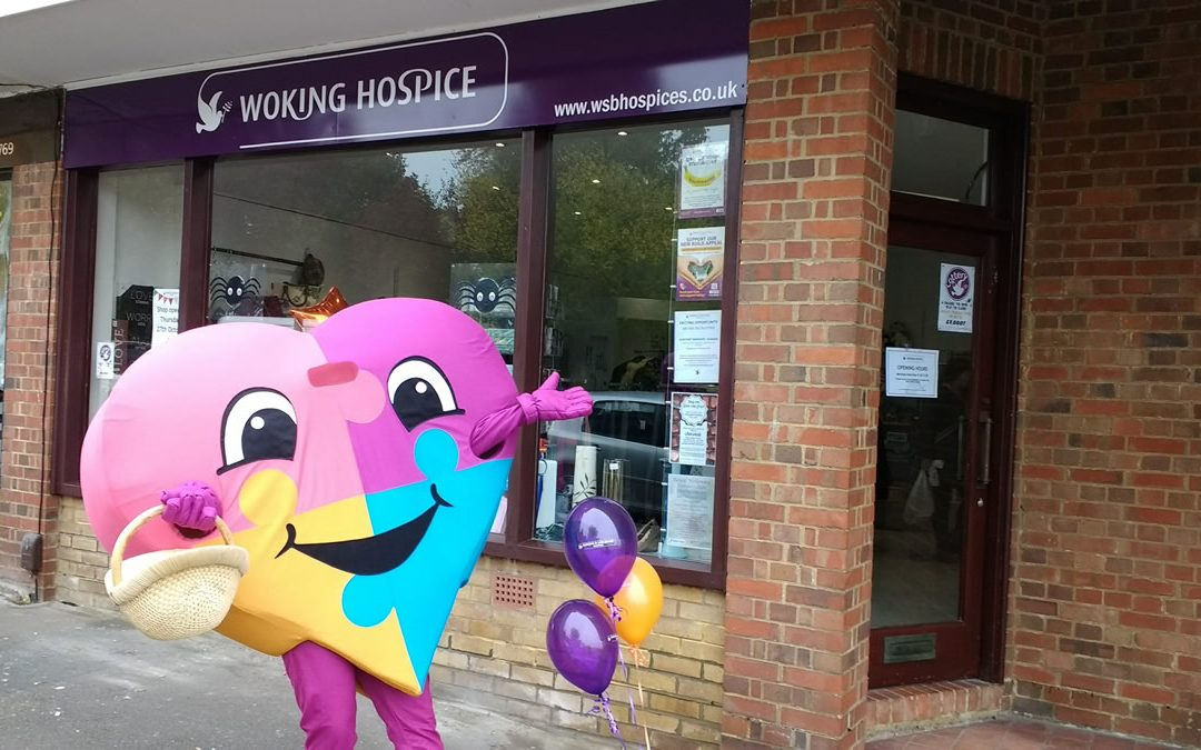 New Woking & Sam Beare Hospices Charity Shop in Guildford