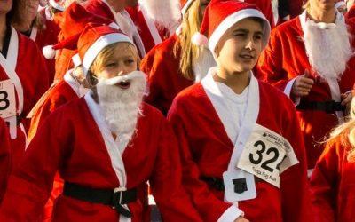Santa Fun Run – Woking & Sam Beare Hospices – Join In The Fun & Help Our Vital Local Charity