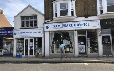 Come To Woking & Sam Beare Hospices Charity Shops To Celebrate 10 Years In Weybridge