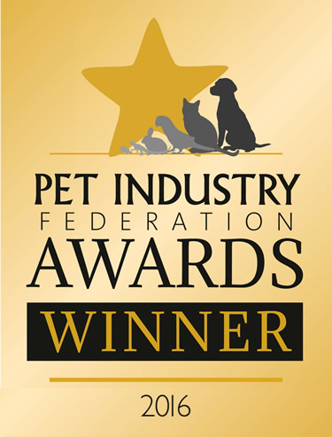 First in the Pet Services Dog Day Care & Boarding category at the Pet Industry Federation Awards for Ripley & Cobham Surrey Dog Care Business
