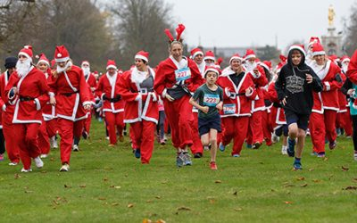 Santa Fun Runs – FUNdraising for Princess Alice Hospice Esher