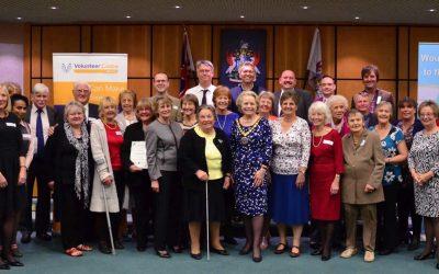 Volunteering in Elmbridge – Celebrations in Esher as Mayor Presents Long Service Volunteer Awards