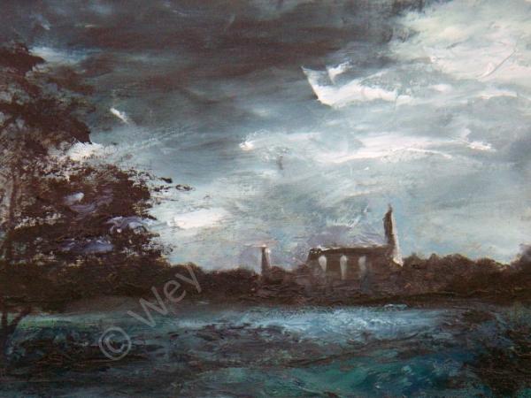 Painting by Weybridge Art Society Member Michael Hedgecoe