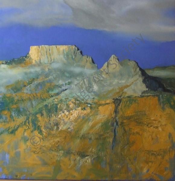 Sterkhorn - Painting by Weybridge Art Society Member Mike Smith
