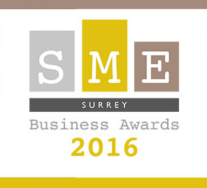 Best Customer Service winner at the SME Surrey Business Awards 2016 and received runner-up in the Business Innovation category