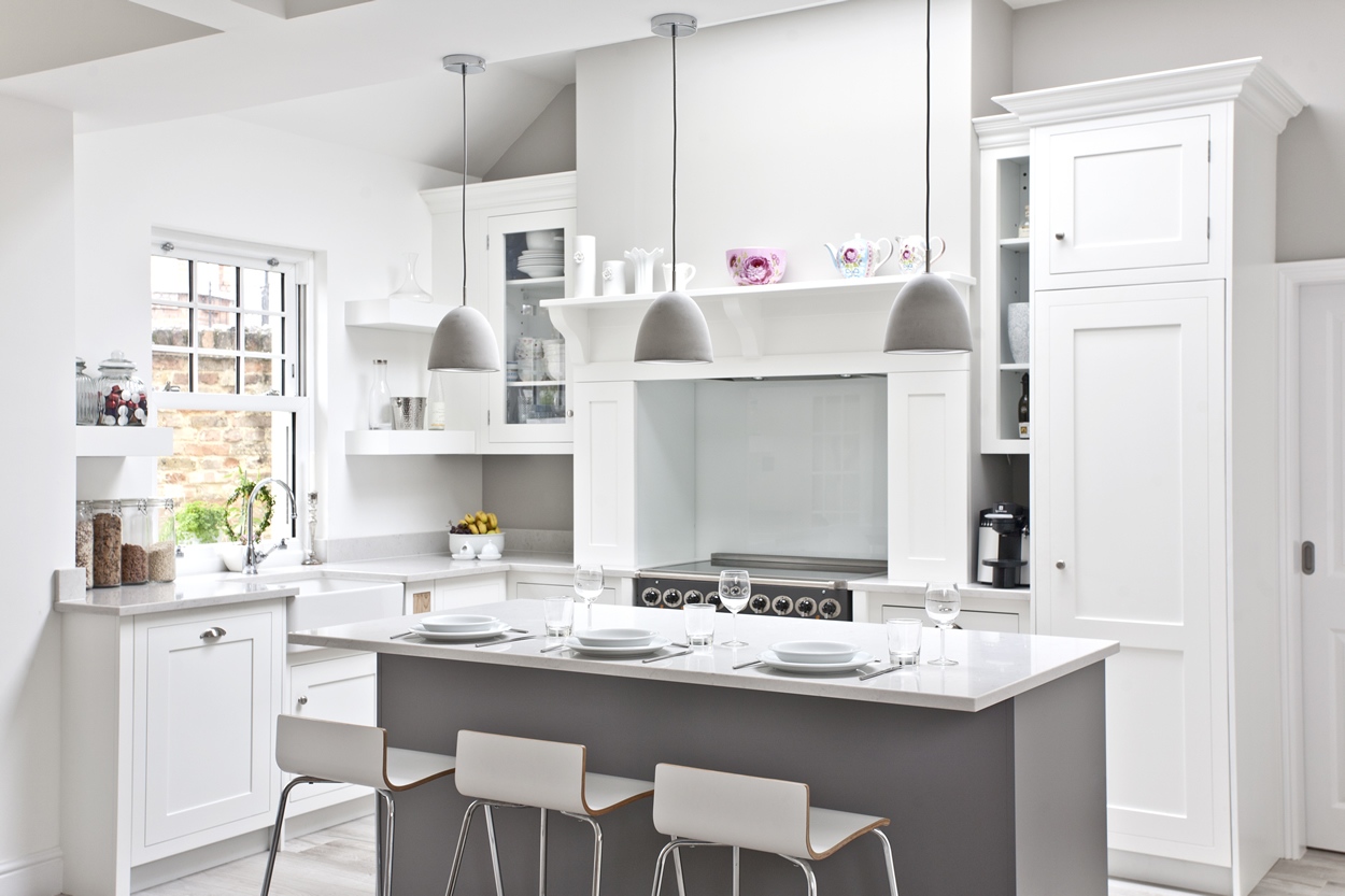 Modern Kitchen Design & Instalaltion illustrating Lighting Blog by Sanctuary Kitchens of Shepperton  Surrey