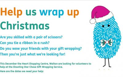 Volunteers Needed by Shooting Star Chase Hospice for Christmas Gift Wrapping Service in Walton