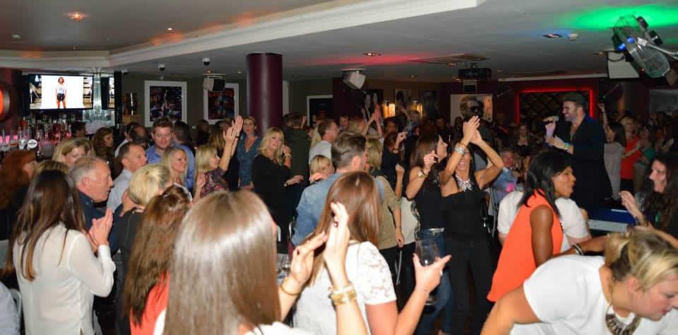 George Michael Tribute Night at Red Bar & Restaurant Weybridge Surrey