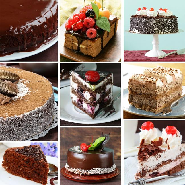 The Great Weybridge Cake Off - Chocolate Cakes Selection