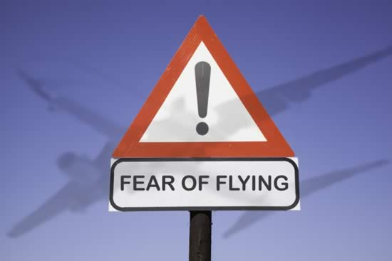 Anxiety - Fear of Flying Course at Brooklands Museum Weybidge Elmbridge Surrey