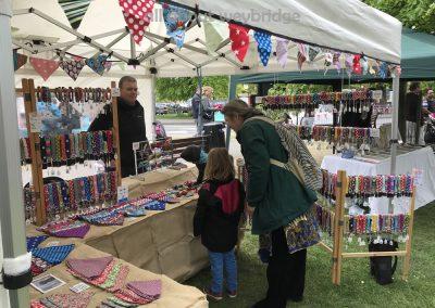Black Dog Company - Market Stall at Weybridge  Cake-off