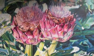 Jane Sewell - Painting - Weybridge Art Society
