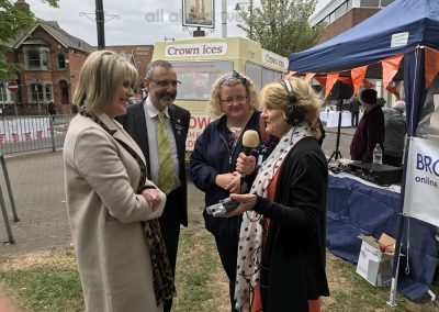 Jill Bennett Interviews Ruth Langsford & othe rjudges at the Great Weybridge Cake Off