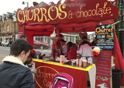 churros-chocolate-food-stall-weybridge-cake-off