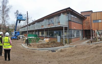 Public Invited To Open Days To View New Woking & Sam Beare Hospice 20 Bedroom Building