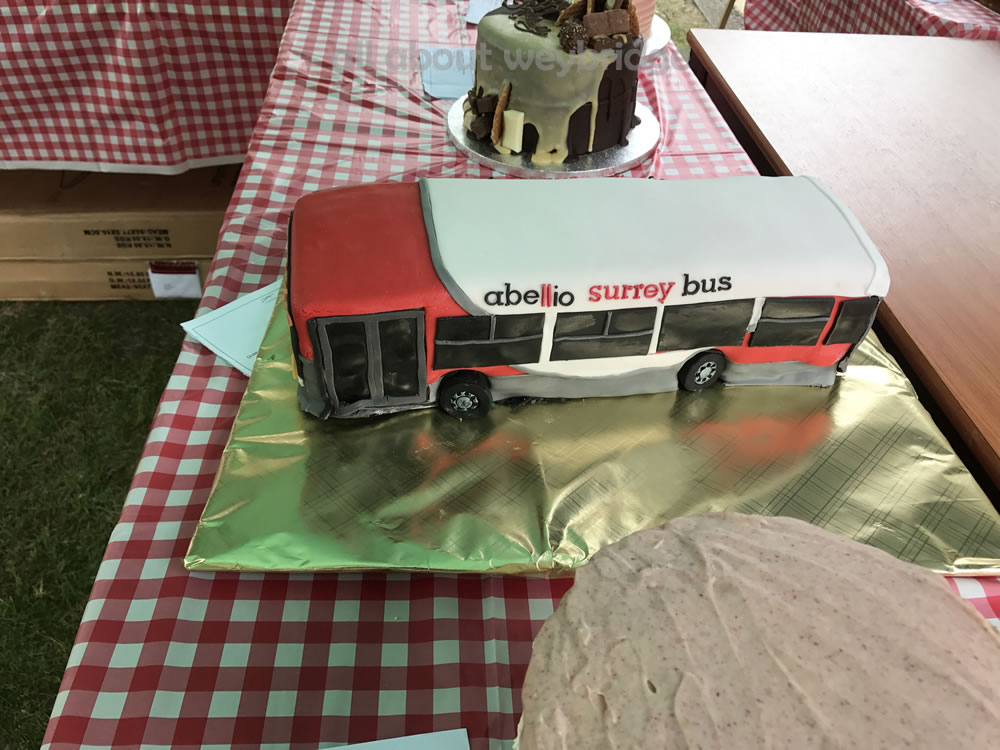 Great Weybridge Cake Off Photos - Abelio Bus