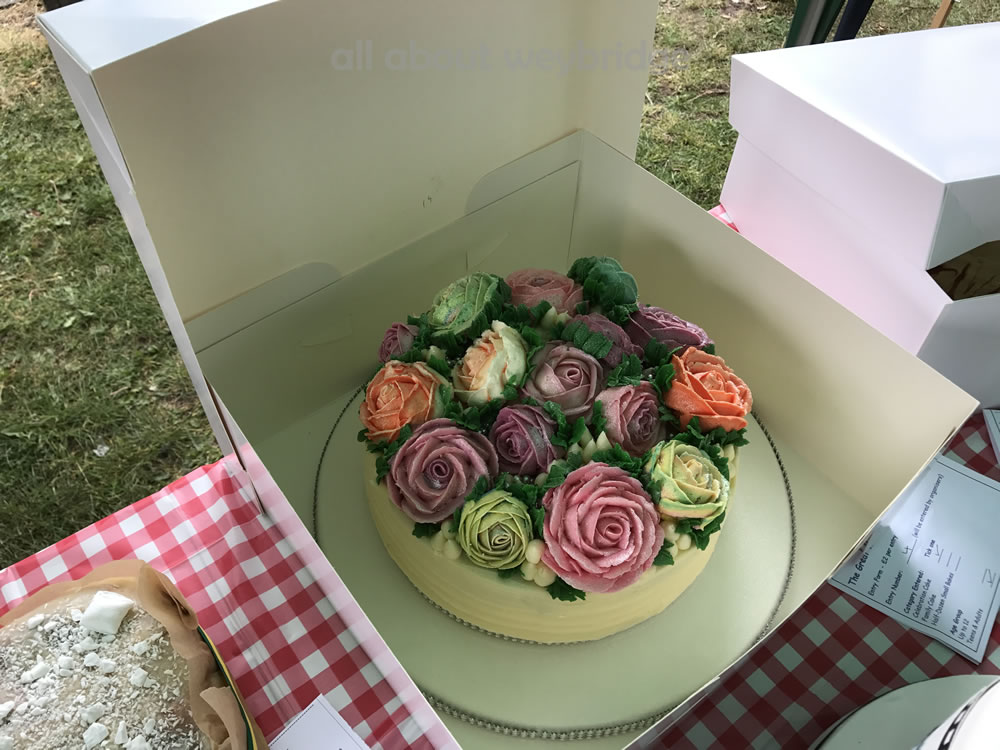 Great Weybridge Cake Off Photos - Rose Decorated Celebration Cake  - Adult
