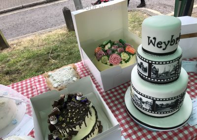 Great Weybridge Cake Off Photos - Celebration Cakes Table - Adult Competition
