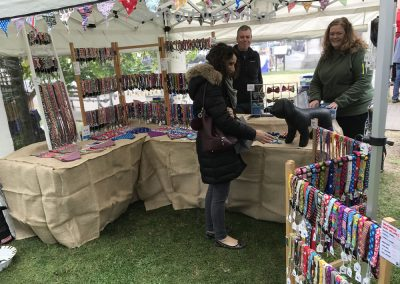 weybridge-cake-off-photos-1000-craft-market-Black Dog Company – Hand made dog collars and leads