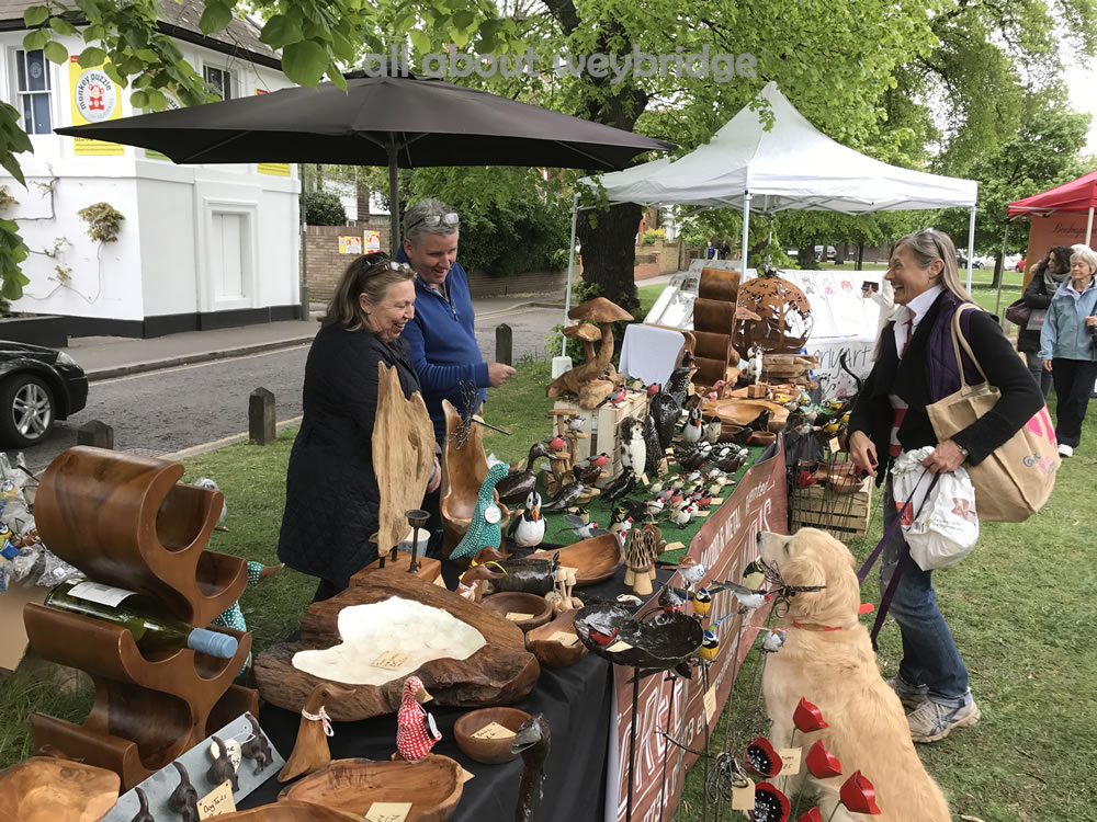 Greenlake Woods - Quality items for homes & gardens - Stall Holder at Weybridge Cake Off