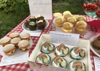 weybridge-cake-off-photos-1000-half-dozen-small-bakes-teenagers -Adult-table