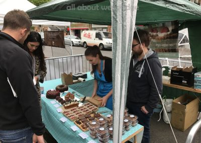 Great Weybridge Cake Off Photos - April's Kitchen Food Stall