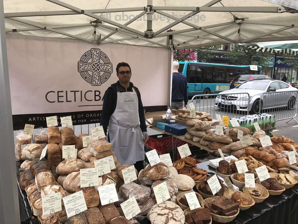 Great Weybridge Cake Off Photos - Celtic Bakers Food Stall