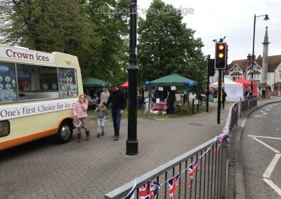 Great Weybridge Cake Off Photos - Ice Cream Van on Monument Green