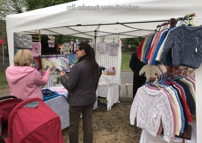 weybridge-craft-market-Flick Simmonds - handmade Aran knitwear for babies and toddlers
