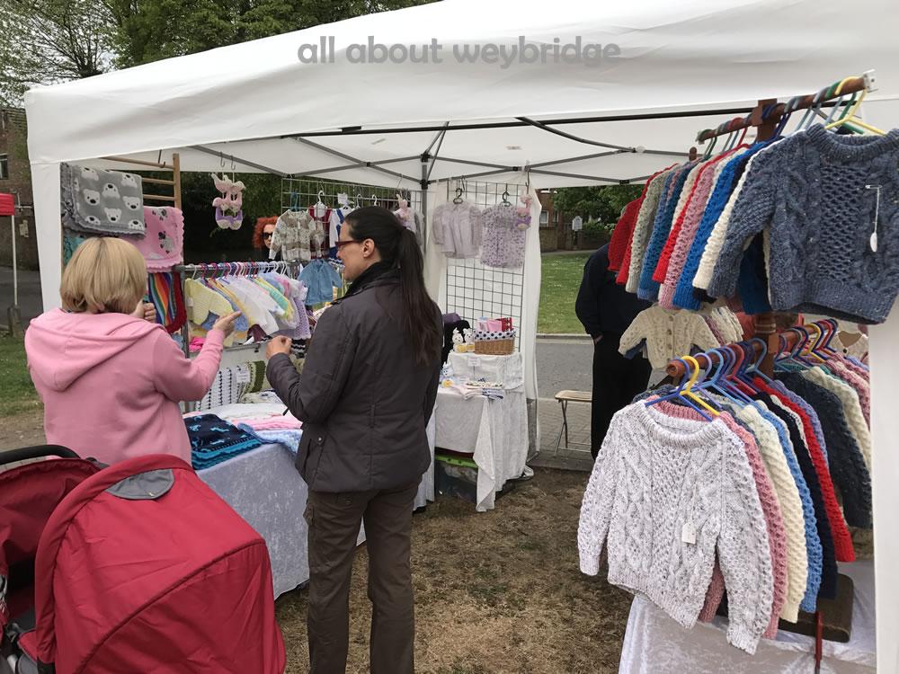 weybridge-craft-market-Flick Simmonds - handmade Aran knitwear for babies and toddlers