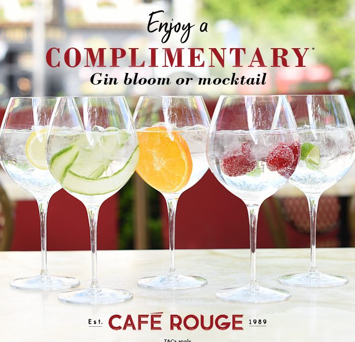 Weybridge Café Rouge Free Drink Voucher – Also Applies To Other Branches