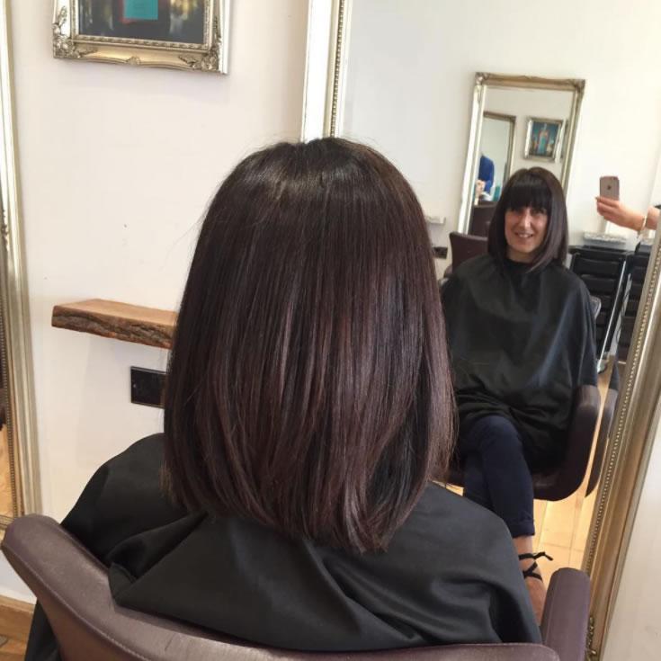 Klass Hair Boutique Color, Cut & Style By Weybridge Salon Senior Stylist Megan using Wella Color & Toner Olaplex Moroccan Oil Products